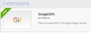GoogleGIFs sudah terpasang