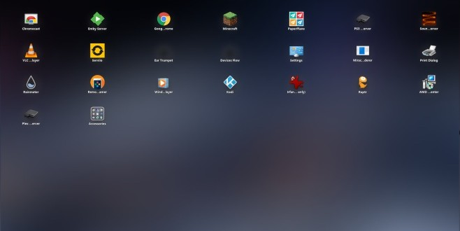 paperplane ipad launcher in windows