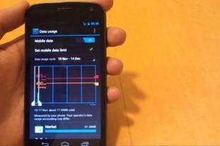 cara memantau penggunaan data android