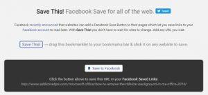 simpan url ke facebook
