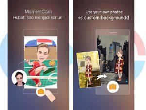 MomentCam, edit foto, aplikasi edit foto, android