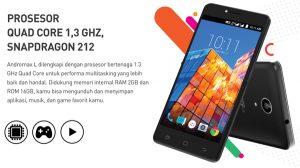 Spesifikasi Dan Review Harga Smartfren Andromax L 4G LTE Ram 2GB Januari 2017