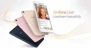 Spesifikasi Dan Harga Asus Zenfone Live Berfitur Dual MEMS Microfone Terbaru 2017