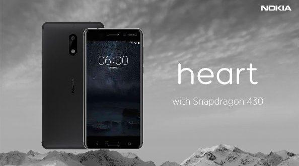 Spesifikasi Dan Review Harga Nokia Heart OS Android v7.0 Nougat Update Februari 2017