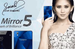 oppo mirror 5, oppo sarah geronimo, Kelebihan dan Kekurangan Oppo Mirror 5