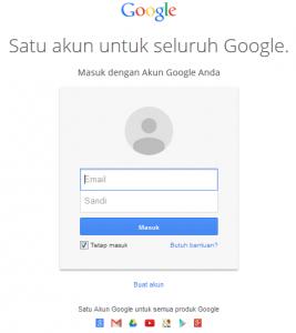 Registrasi Akun Google
