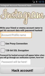 Aplikasi Instagram Hack Password Account