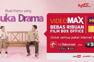 Cara Menggunakan Paket Kuota VideoMax Telkomsel