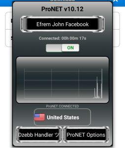 Download dan Instal Pronet Apk V10.12