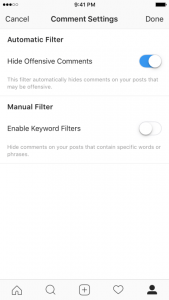 Filter Terbaru Instagram Yang Dapat Memblokir Komentar Negatif, Ofensif, Dan Spam