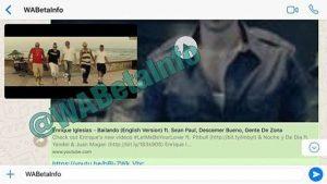 Vidio Youtube Akan Segera Bisa Diputar Dalam Chat WhatsApp