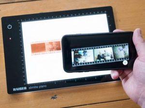 Scan Barcode, QR code dan Film Negatif