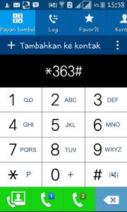 Cek Sisa Kuota Internet Telkomsel Sengan Dial/Panggilan