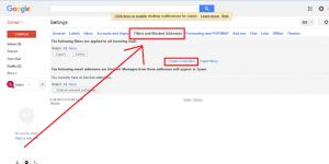 Atur Filter untuk Pesan Masuk Email