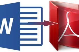 Cara Mudah Mengubah Dokumen Word ke Pdf