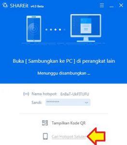 Cara Mudah Treansfer File Dari Android ke PC Dengan SHAREit