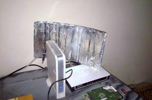 Memperkuat Sinyal Dengan Alumunium Foil