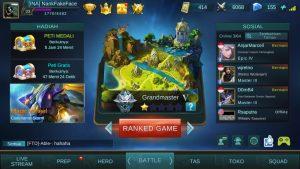 Cara Mudah Push Rank Grand Master Mobile Legends di Android