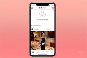 Kini Beranda Instagram Akan Menampilkan Postingan yang Direkomendasikan