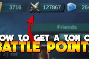 Cara Cepat Meningkatkan Jumlah Battle Point di Mobile Legends
