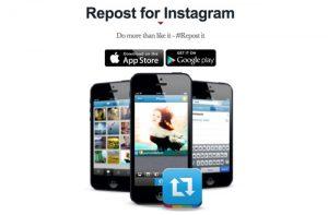 Dengan Aplikasi Repost for Instagram