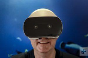 Lenovo Rilis Headset VR Standalone Mirage Solo With DayDream
