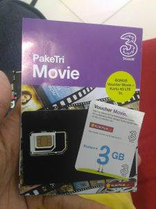 Cara Menggunakan Kuota Movie Thri Di Smartphone Android