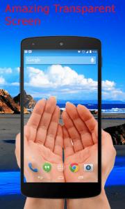 Cara Mudah Pasang Wallpaper Tembus Pandang di Smartphone Android