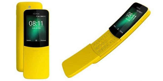 """Hadir Lagi ! Nokia """"Pisang"""" 8110 Matrix Legendaris dengan Dukungan 4G"""