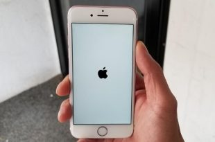 cara mudah restart iphone