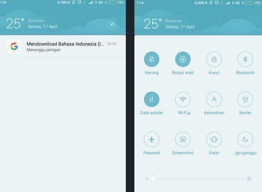 Cara Mudah Memisahkan Tombol Toggle Dan Notifikasi Di Smartphone Xiaomi