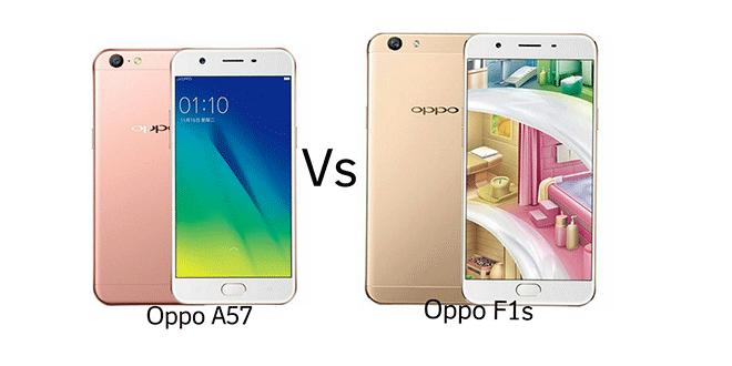 Oppo A57 Vs Oppo F1S, perbandingan Oppo A57 Vs Oppo F1S, Oppo F1S Vs Oppo A57