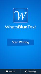 Cara Mudah Mengirim Teks Berwarna Biru Di WhatsApp