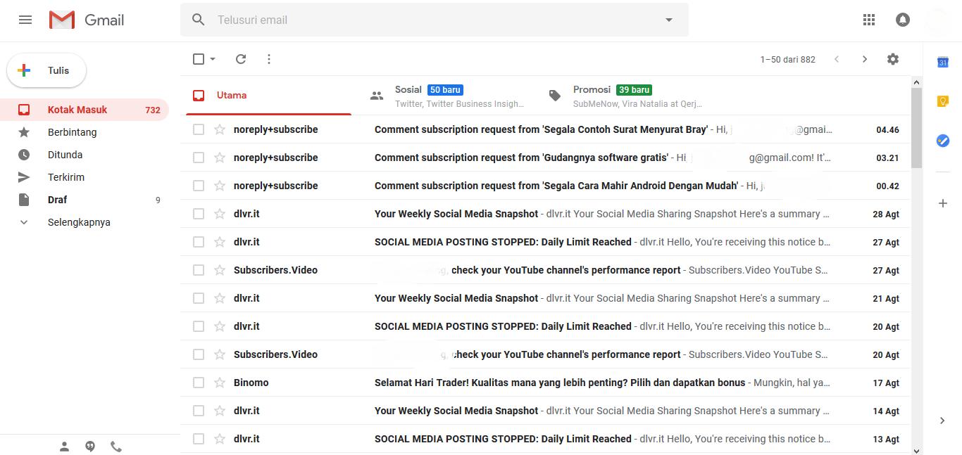 Cara Mudah Membatalkan E-mail yang Sudah Terkirim di Gmail