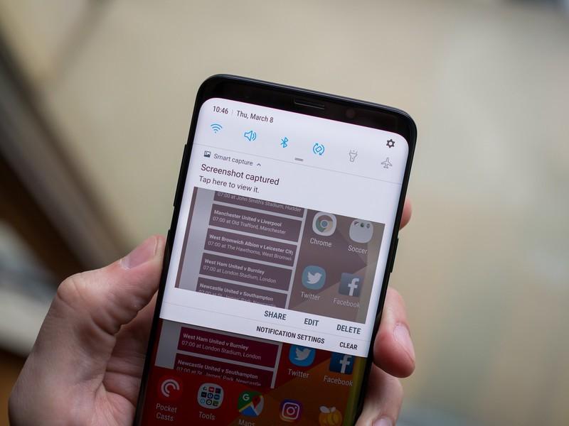 Cara Mudah Screenshot Samsung Galaxy S9