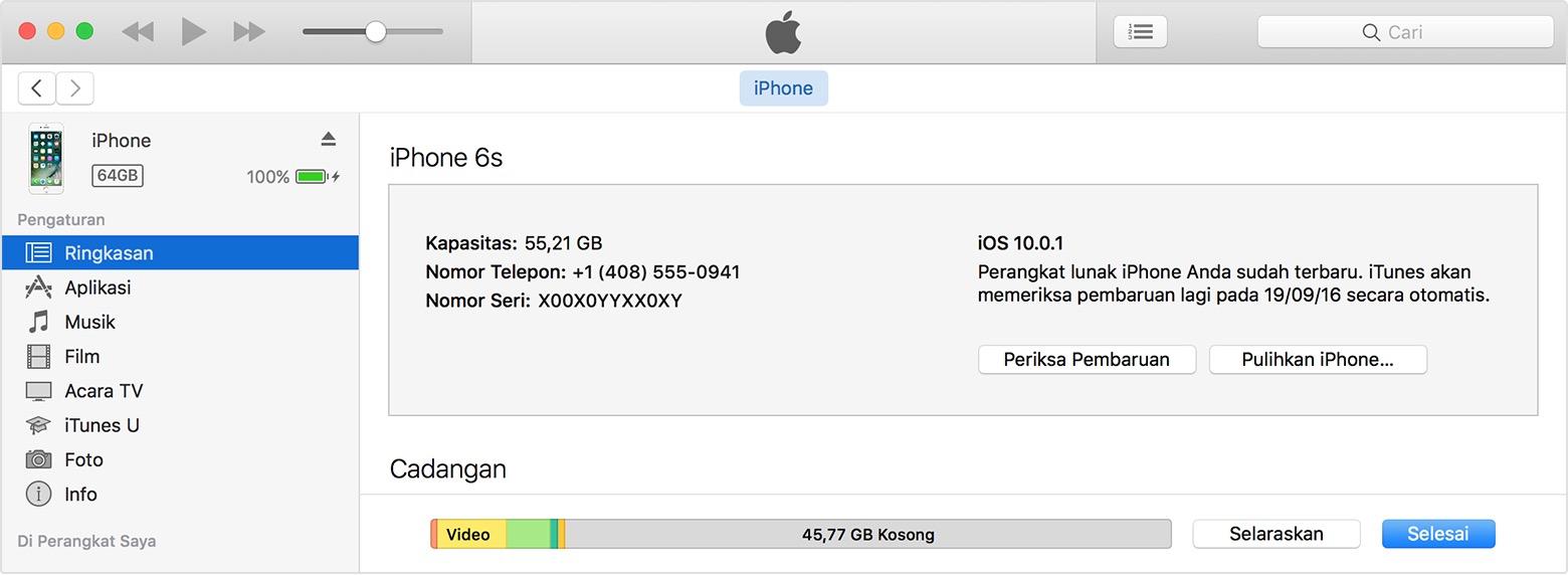 Cara Mudah Reset iPhone Lupa Password