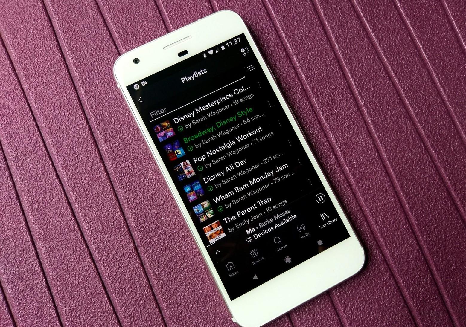 Kini Spotify Bisa Simpan Hingga 10.000 lagu Dalam Satu Perangkat