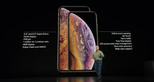 spesifikasi iphone xs dan iphone xs max