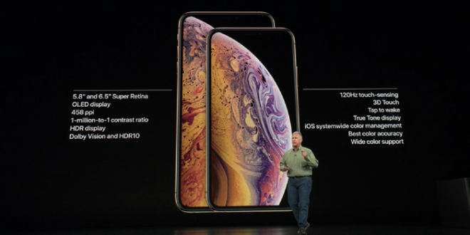 spesifikasi iphone xs dan iphone xs max