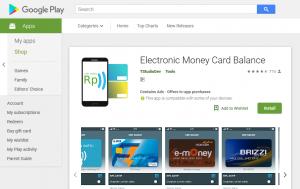 Cara Mudah Cek Saldo Uang Digital Semua Bank di Android
