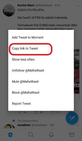 Cara download video dari twitter
