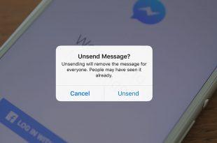 Facebook Messenger Sedang Kerjakan Fitur Batalkan Pesan
