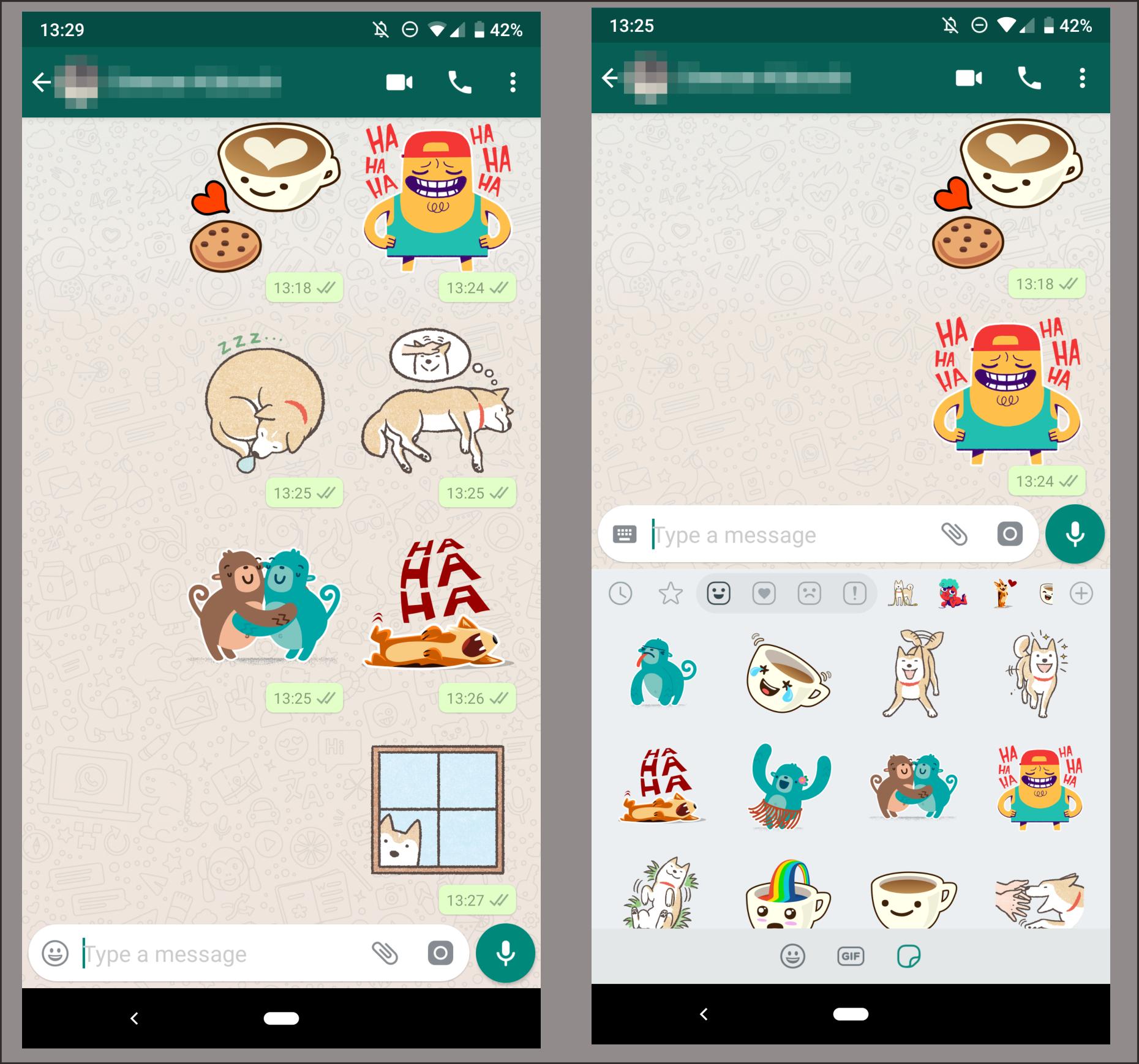 WhatsApp Akan Didukungan Sticker Di Dalam Obrolannya
