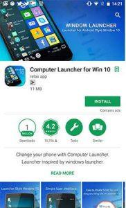Cara Mudah Buat Tampilan Android jadi Windows 10,android jadi komupter,oprek android,hack android,costume android