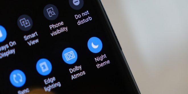 """Fitur Baru Samsung Galaxy """"Dark Mode"""""""
