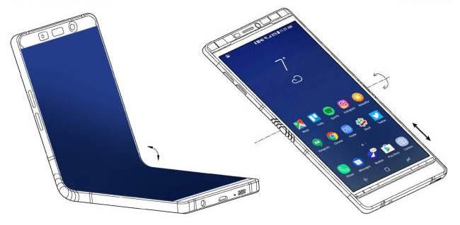 Samsung Pamerkan Smartphone Yang Bisa Dilipat