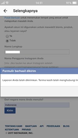cara mengembalikan akun instagram, cara mengembalikan akun instagram, yang di blokir, cara mengembalikan akun instagram, yang di banned