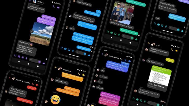 Mode Gelap Resmi Hadir Ke Facebook Messenger