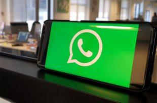 WhatsApp full screen