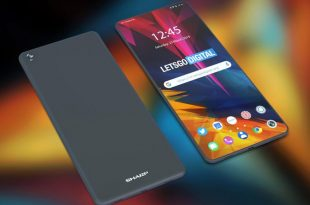 sharp foldable smartphone